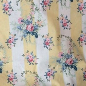 2 yards of Vintage Laura Ashley Isabelle Fabric